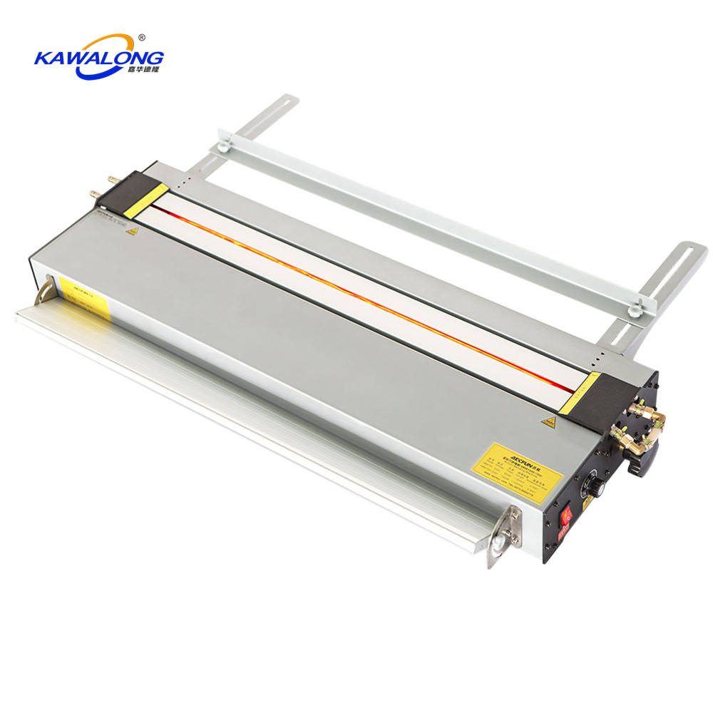 Hot thermal forming signboard logo manual plastic acrylic bending machine