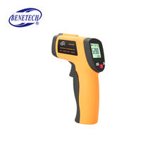 GM550E High Quality digital infrared non contact  thermometer laser temperature meter
