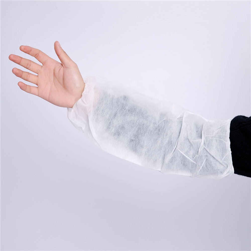 Blue Nonwoven fabric home cleaning Arm Sleeve Covers