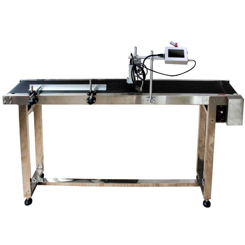 Good price Industrial Time Date Character Inkjet Printer/Coding/Printing Machine For Bottle Wire Cable wood food pvc