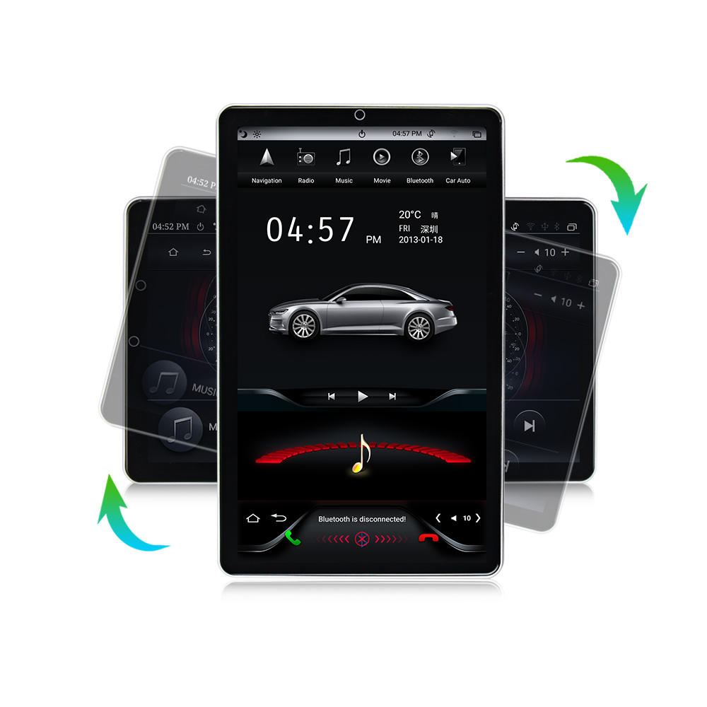 "MEKEDE NEW 12"" TS Style Android 10 6core 4+64GB Car DVD Player Android Universal PX6 All Model 1din DSP Car autoradio"