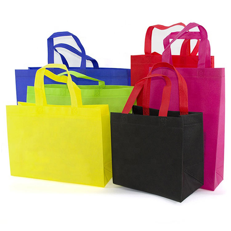 Economical Promotional Gifts Reusable Eco Friendly Non-Woven Fabric Bags Foldable Carry Shopping Bag Tote Bag