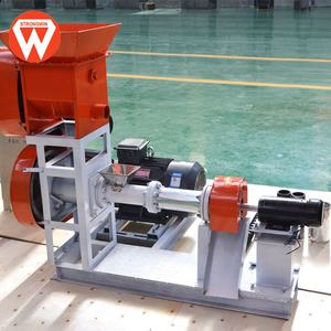 Strongwin dependable performance sinking fish and floating fish feed extruder machinery