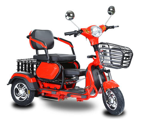 Adult Electric Tricycle Three wheelers 48V500W Differential Motor