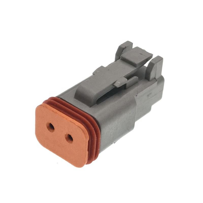 Deutsch Connectors DT06-2S 2 Pin Electrical Plug男性Connector