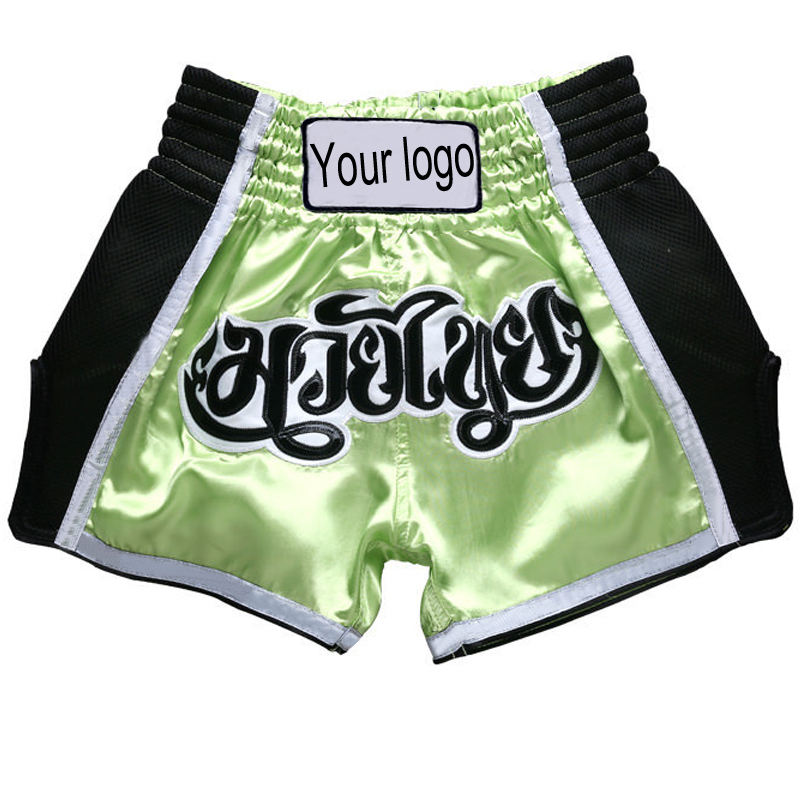 Wholesale Muay Thai Shorts Wrestling Fight Shorts MMA Boxing Shorts Customize your LOGO