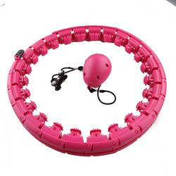 Sport Hoops Detachable Adjustable Size 360 Degree Massage Hu