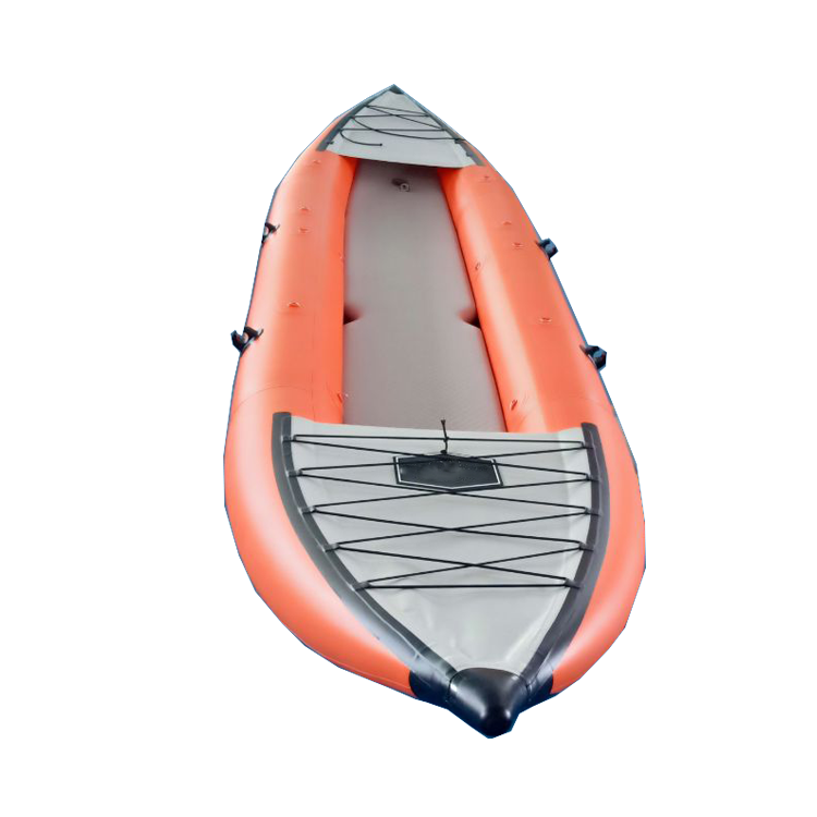china high quality inflatable sea fishing 2 person kayak