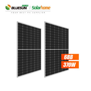 Bluesun 350w solar panel JA 360w solarcell perc 365w 370w JA 2 years warranty 370w solar power with CE TUV