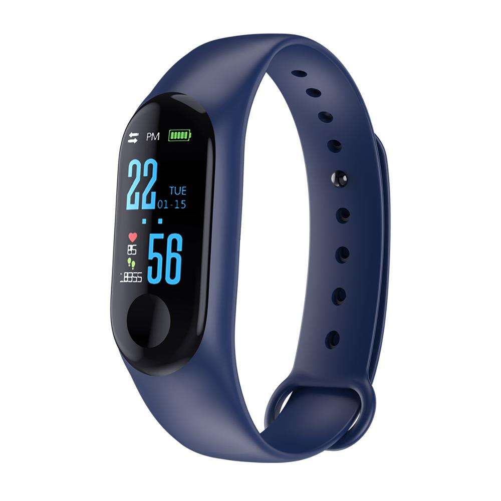 New High Quality female Multifunction Fitness Tracking Touch Screen Slim Health Heart Rate Monitoring Pedometer Man Smart Watch