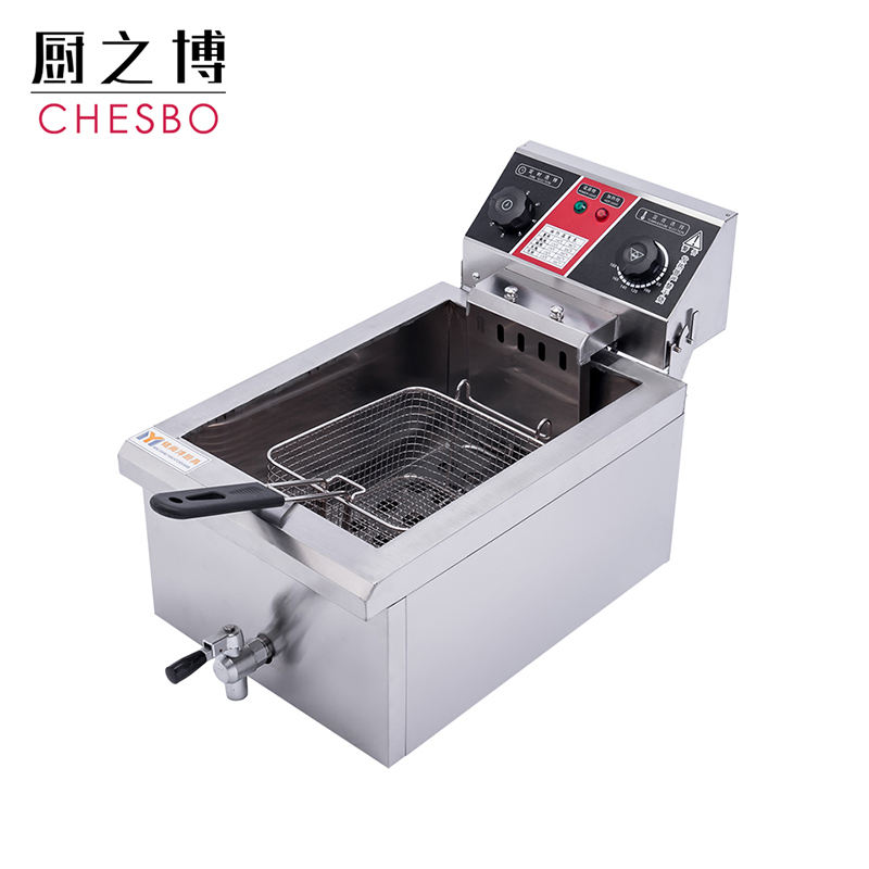 2500W 14L Electric Deep Fat Fryers Electric Oil Fryers with Removable Basket Timer Temperature Control