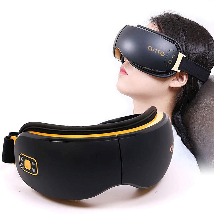 Multifunctionele Eye Massager Elektrische Draadloze Muziek Eye Beauty Care Massager