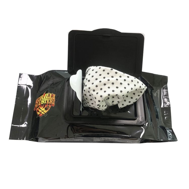 BBQ Grill Cleaning Wipes wet wipes Remove Grease and Grime for Clean and Healthy Grill BBQ wipes