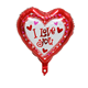 Valentine's Day decoration heart shaped I LOVE YOU foil helium Balloon