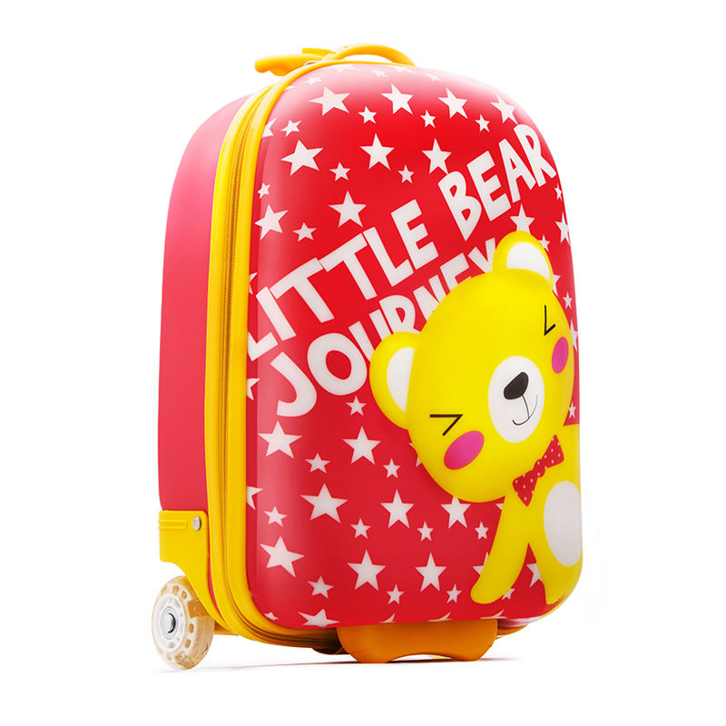 Manufacturer OEM Promotional Kid Cartoon Suitcase Box,Kid Ride Suitcase