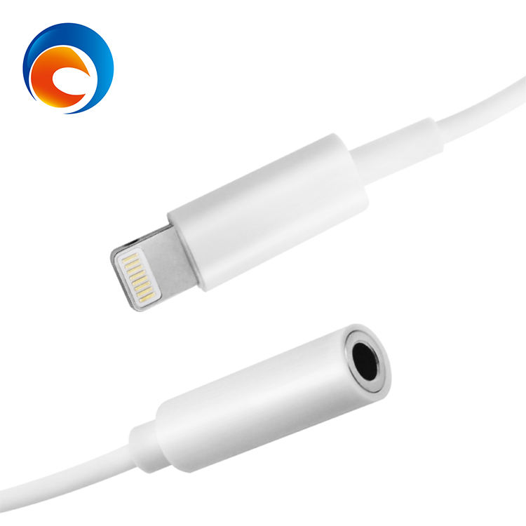 cable to 3.5mm headphone jack adapter for apple compatible for mobile phone extender jack adapter connector headphone adapter