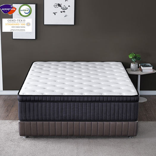 Foam Bed Spring Memory For Size King Latex Air Topper Queen Pocket Gel 8 Inch Innerspring Hybrid Medium Firm Feel Twin Mattress