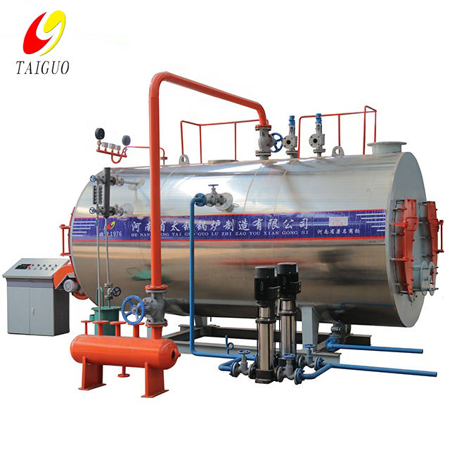 Natural Circulation [ Boiler Gas ] Oil-fired Industrial Gas Boiler China Highest A Level Boiler Manufacturer Taiguo Industry Boiler 2 Ton Gas Oil Diesel Steam Boiler