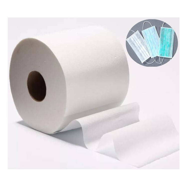 High Quality Disposable Filter Fabric Meltblown Nonwoven Fabric Original Cloth Medical Grade Melt Blown Filter Media