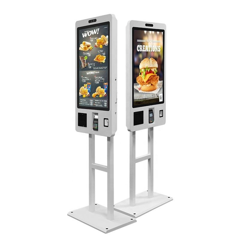 "Sinmar 24 ""32"" Smart Touch Screen Venster/Android Systeem Zelf Bestellen Voedsel Self Check Out Kiosk Supermarkt"