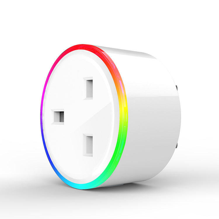 Excel Digitale RGB Led Nacht Licht Wifi Smart Plug UK Standard Smart Leben Stecker RGB UK Steckdose