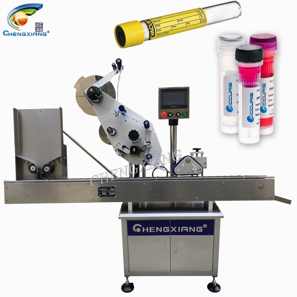 Upgrade Type 5Ml 10Ml 15Ml Automatische Test Buis Etikettering Machine
