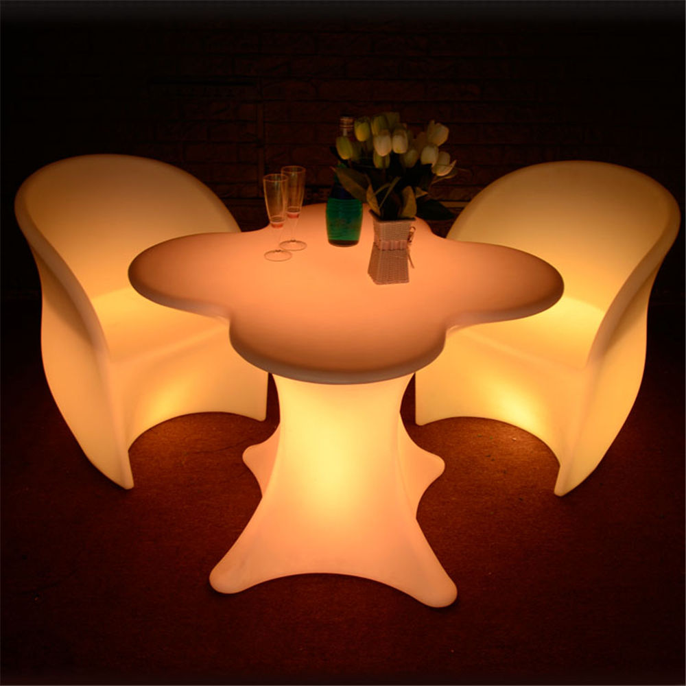 outdoor led furniture for decoration