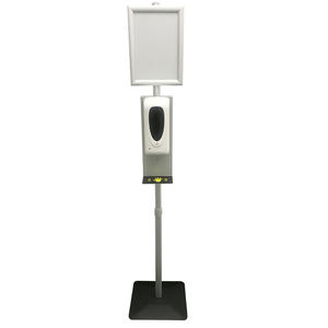 Adjustable Height Automatic Hand Sanitizer Soap Dispenser Stand
