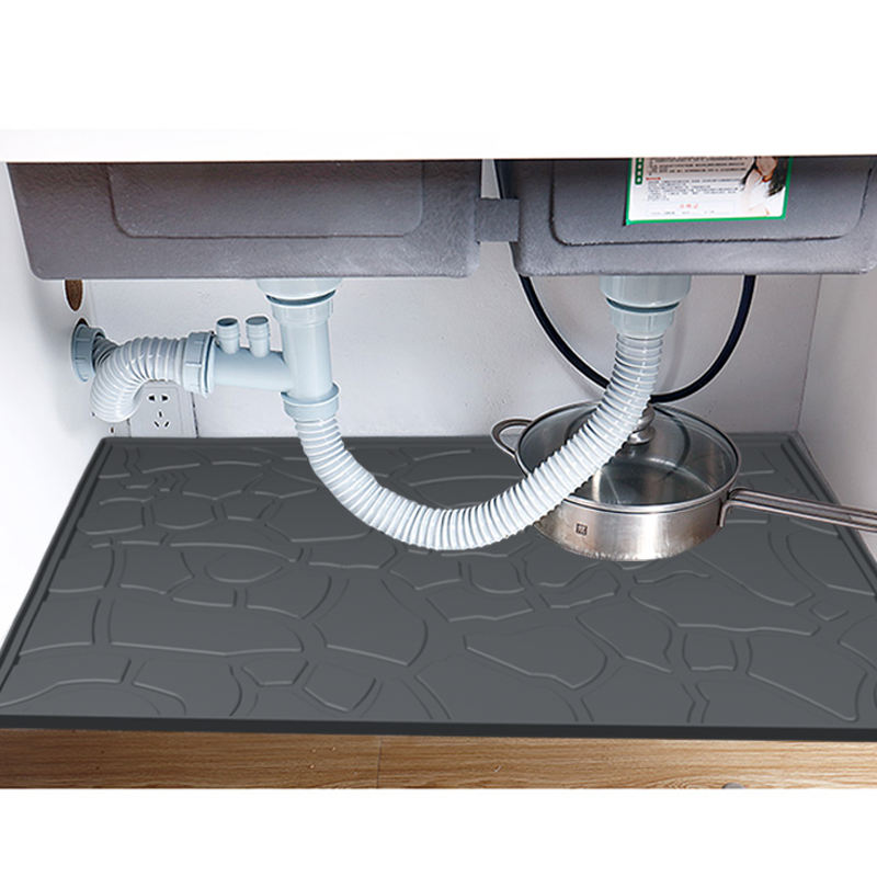 2020 New Design Silicon Mat Anti Fatigue Base Mat Bathroom Cupboard Mat With Waterproof Washable