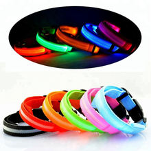 Pet Dogs LED Collar Safety Night Lighted LED Collar