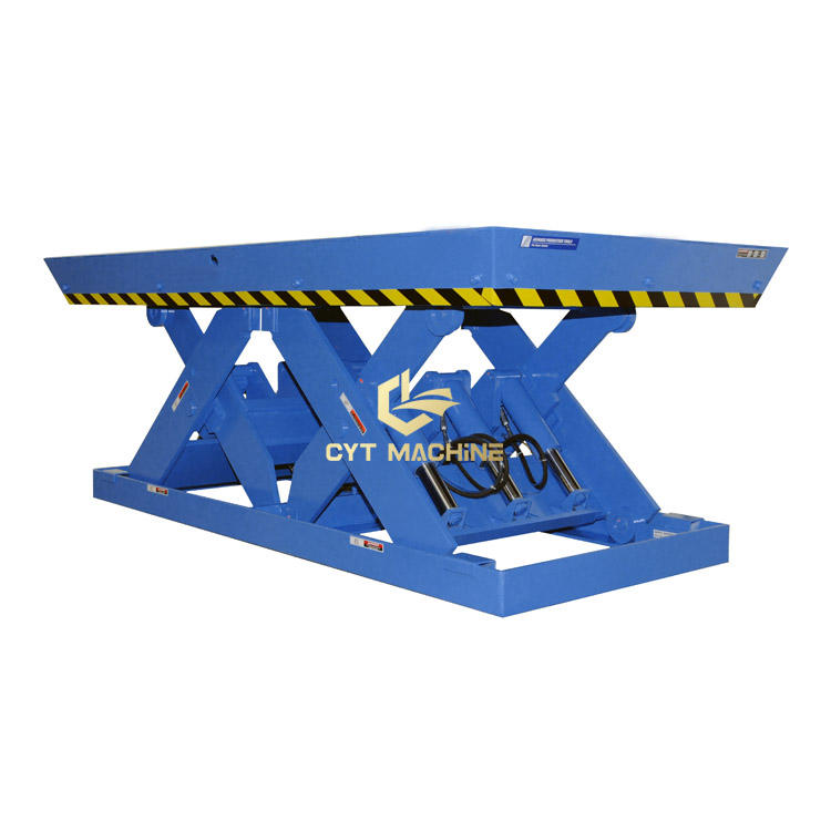 single stage scissors lift tablescissor mechanism