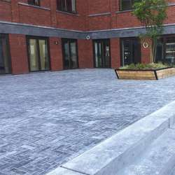 Chinese best sales tumbled  blue limestone tiles pavers