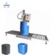 Weighing filling machine for barrels cans buckets liquid 208L Drum filler machine up to 275 gallon