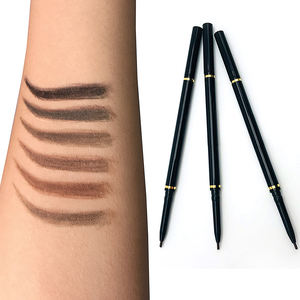 Low moq private label eye pencil waterproof long lasting eyebrow pencil