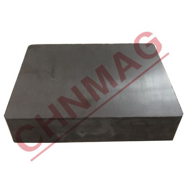 150mmX100mmX25mm ferrite ceramic magnet square