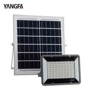 IP65 Outdoor 60W 120W 200W Solarbetriebene LED Akku Flutlicht