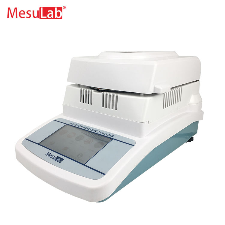 Hot lab electronic digital grain moisture content testing equipment halogen lamp moisture balance meter tester analyzer price
