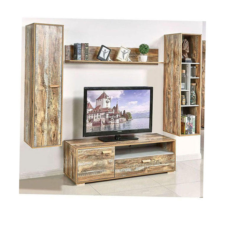 Tempered Glass Tv Stand With Wall Mount Stands Set Wood Furniture Living Room Stainless Steel Metal Television