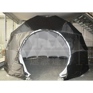 Diameter 3.6m to 100m TPU wonderful rigid wall round dome tent for luxury hotel tent