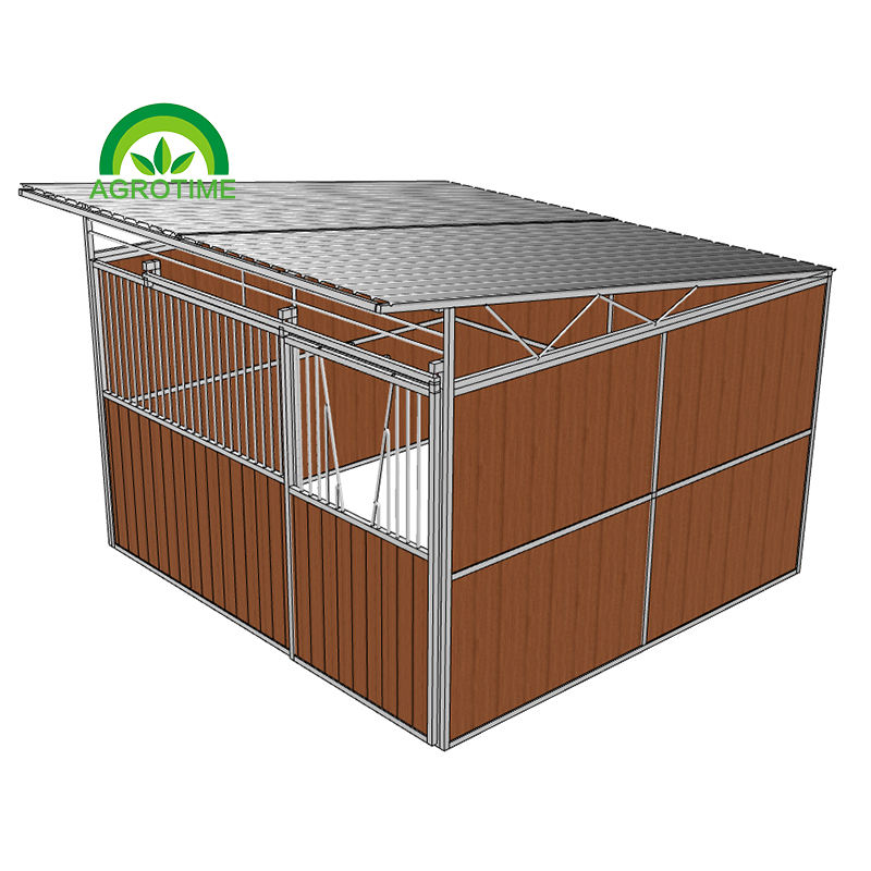 Horse Stable stalls with roof European Equestrian horse stalls with roof roof horse boxes for sale
