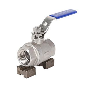 AISI 304 316 Stainless Steel Ball Valve with ASME, GOST, En