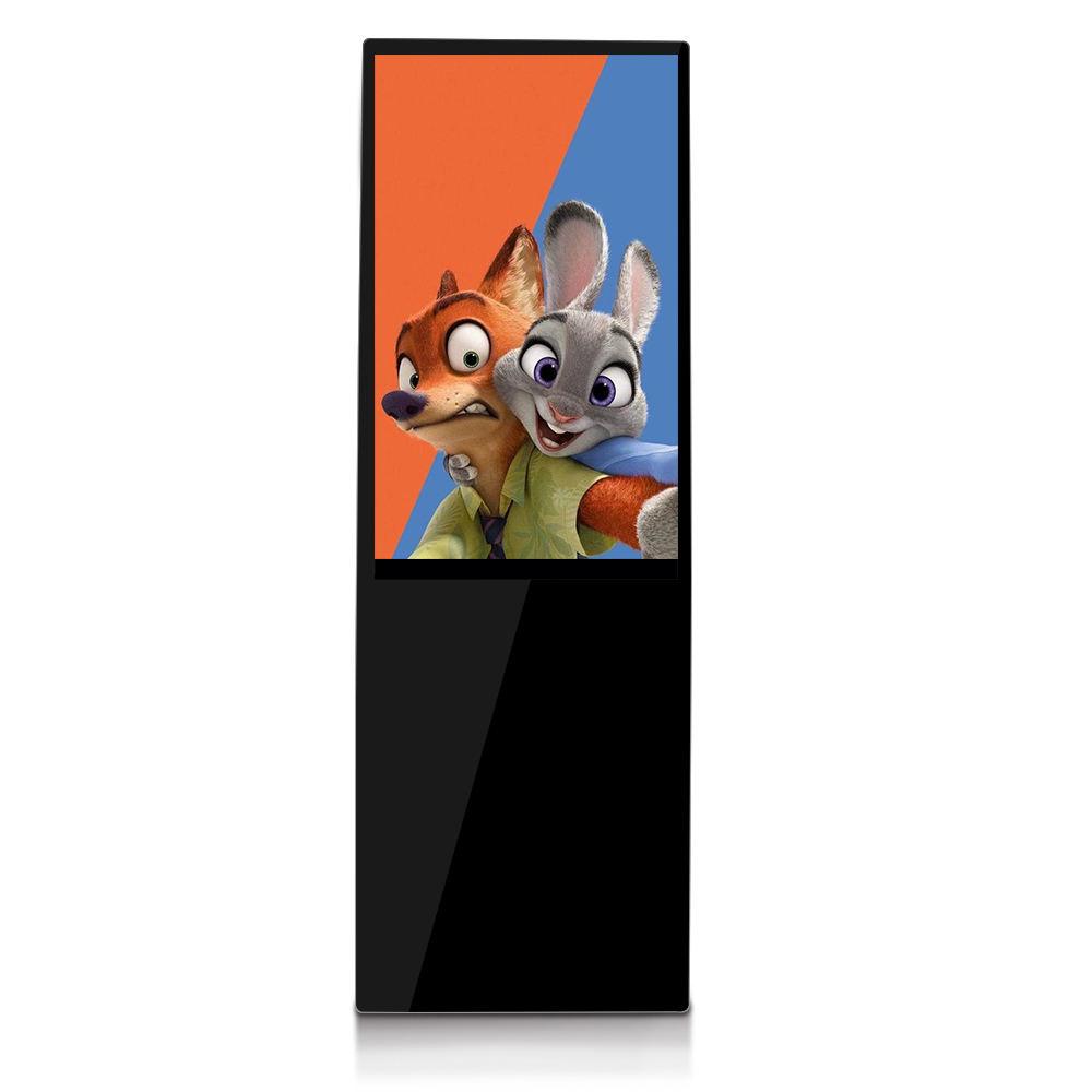 Ristorante Interno 43 pollici Display <span class=keywords><strong>LCD</strong></span> Piano In Piedi Digital Signage per la Pubblicità