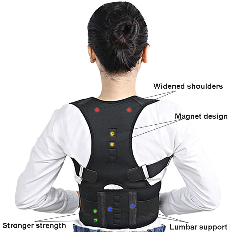 Elastic Back Brace and Arm Posture Corrector Humpback Correction