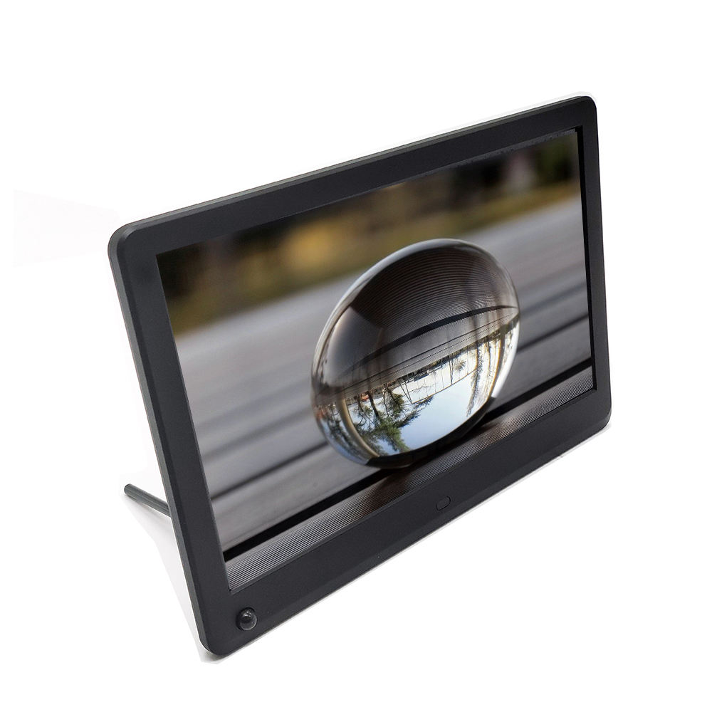 12 inch digital photograph display HD screen 1920*1080 auto play photo video and music