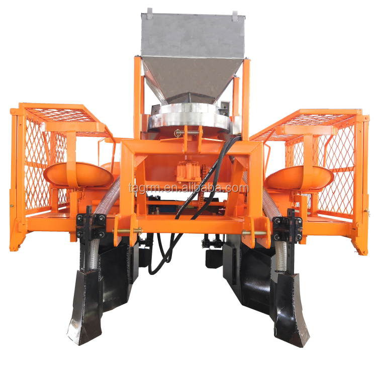 sugar cane planting machine with high quality fertilizing sugarcane planter