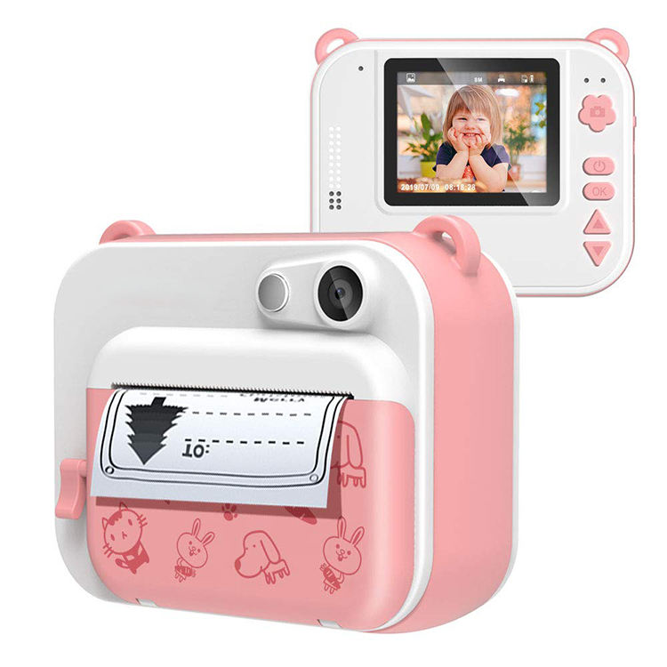 Factory Wholesale Portable Instant Fun Instant Print Camera Zero Ink Digital Toy cam Best Gift for Kids
