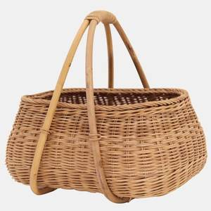 Rattan Woven Wicker Picnic Basket Sets Mosey Basket Cheap Price High Quality for Export from Vietnam