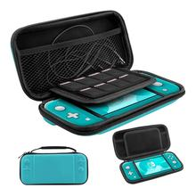 Video Game Case for Nintendo Switch Lite - Portable Travel Carry Cases with storage for Switch Lite Games & Accessories