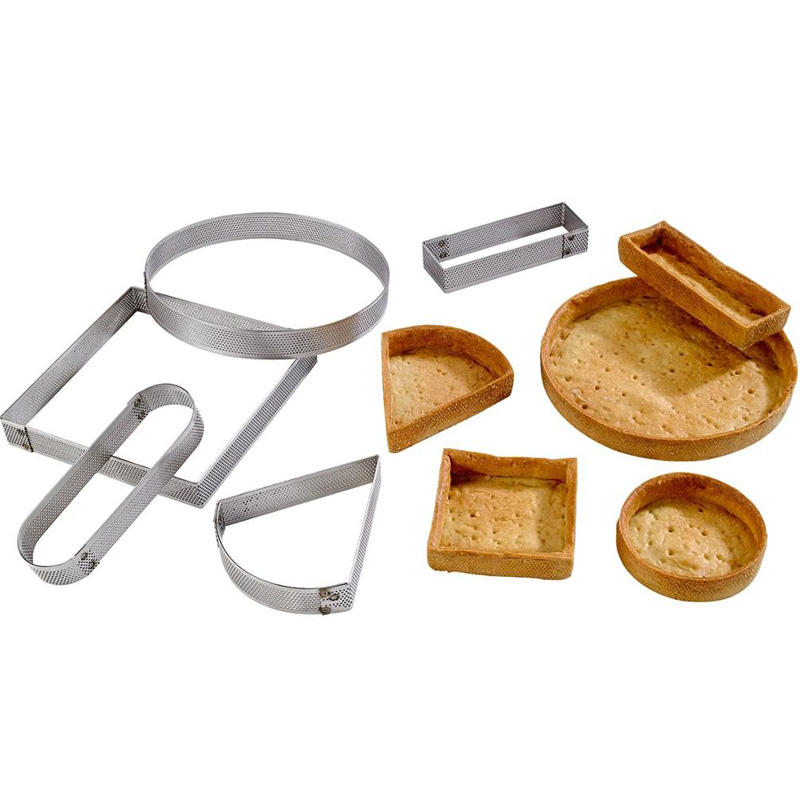 baking tool cake mould stainless steel tart ring