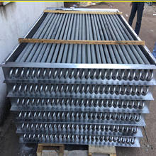 Professional Finned Tube Radiator Carbon Steel Grimped Fin Type Heat Exchanger Air Radiator (Air to Water/Oil/Steam)